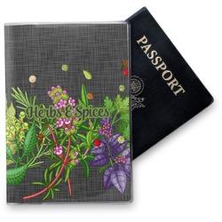 Herbs & Spices Vinyl Passport Holder (Personalized)