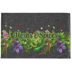 Herbs & Spices Woven Mat (Personalized)