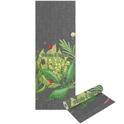 Herbs & Spices Yoga Mat - Printable Front and Back (Personalized)