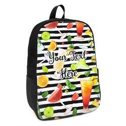 Cocktails Kids Backpack (Personalized)