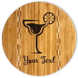 Cocktails Bamboo Cutting Board (Personalized)