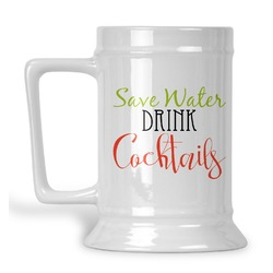 Cocktails Beer Stein (Personalized)