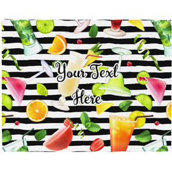 Cocktails Placemat (Fabric) (Personalized)