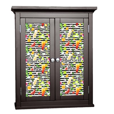 Cocktails Cabinet Decal - Custom Size (Personalized)