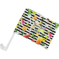 Cocktails Car Flag (Personalized)