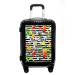 Cocktails Carry On Hard Shell Suitcase (Personalized)