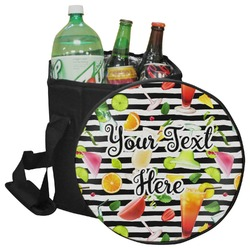 Cocktails Collapsible Cooler & Seat (Personalized)