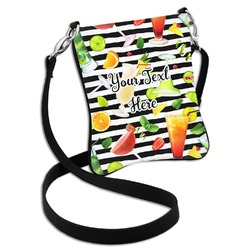 Cocktails Cross Body Bag - 2 Sizes (Personalized)