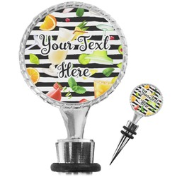 Cocktails Wine Bottle Stopper (Personalized)
