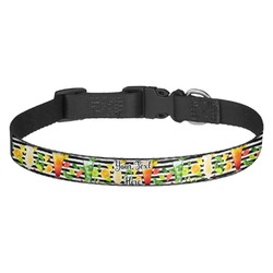 Cocktails Dog Collar - Multiple Sizes (Personalized)