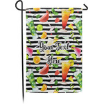 Cocktails Garden Flag - Single or Double Sided (Personalized)