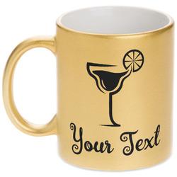 Cocktails Gold Mug