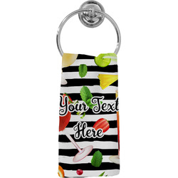 Cocktails Hand Towel - Full Print (Personalized)