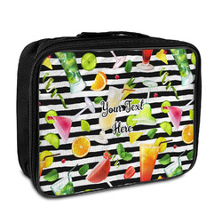 Cocktails Insulated Lunch Bag (Personalized)