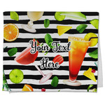 Cocktails Kitchen Towel - Full Print (Personalized)