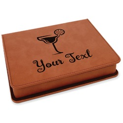 Cocktails Leatherette 4-Piece Wine Tool Set (Personalized)