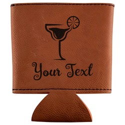 Cocktails Leatherette Can Sleeve (Personalized)