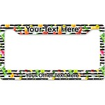 Cocktails License Plate Frame (Personalized)