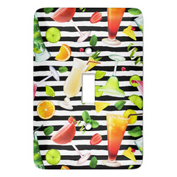 Cocktails Light Switch Covers (Personalized)