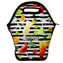 Cocktails Lunch Bag w/ Name or Text