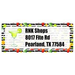 Cocktails Return Address Labels (Personalized)