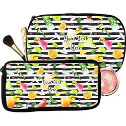Cocktails Makeup / Cosmetic Bag (Personalized)