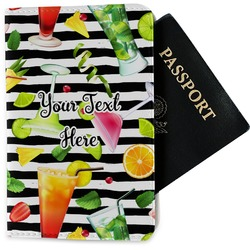 Cocktails Passport Holder - Fabric (Personalized)