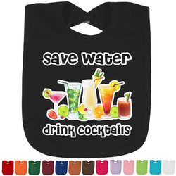 Cocktails Bib - Select Color (Personalized)