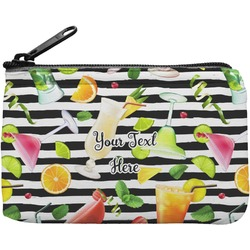 Cocktails Rectangular Coin Purse (Personalized)