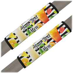 Cocktails Seat Belt Covers (Set of 2) (Personalized)
