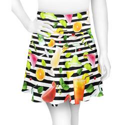 Cocktails Skater Skirt (Personalized)