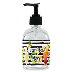 Cocktails Soap/Lotion Dispenser (Glass) (Personalized)