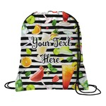 Cocktails Drawstring Backpack (Personalized)