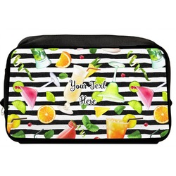 Cocktails Toiletry Bag / Dopp Kit (Personalized)
