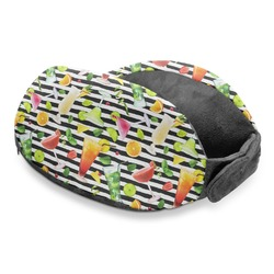 Cocktails Travel Neck Pillow (Personalized)