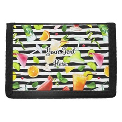 Cocktails Trifold Wallet (Personalized)