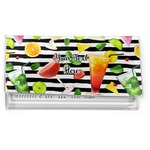 Cocktails Vinyl Checkbook Cover (Personalized)