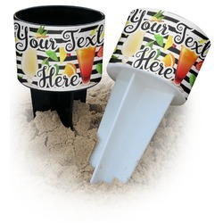 Cocktails Beach Spiker Drink Holder (Personalized)