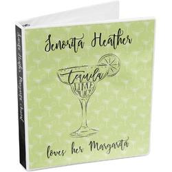 Margarita Lover 3-Ring Binder (Personalized)