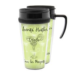 Margarita Lover Acrylic Travel Mugs (Personalized)
