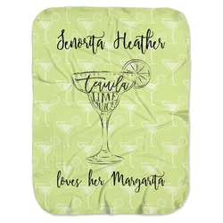 Margarita Lover Baby Swaddling Blanket (Personalized)