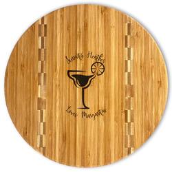 Margarita Lover Bamboo Cutting Board (Personalized)