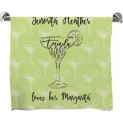 Margarita Lover Full Print Bath Towel (Personalized)