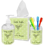 Margarita Lover Acrylic Bathroom Accessories Set w/ Name or Text
