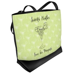 Margarita Lover Beach Tote Bag (Personalized)