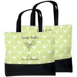 Margarita Lover Beach Tote Bag (Personalized)