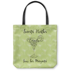 Margarita Lover Canvas Tote Bag (Personalized)