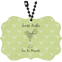 Margarita Lover Rear View Mirror Charm (Personalized)
