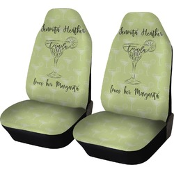 Margarita Lover Car Seat Covers (Set of Two) (Personalized)