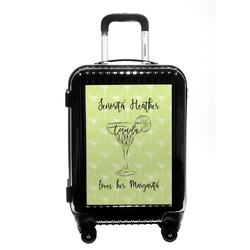 Margarita Lover Carry On Hard Shell Suitcase (Personalized)